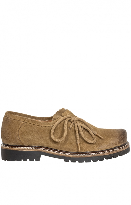 Traditional oktoberfest brogues MICHI tan