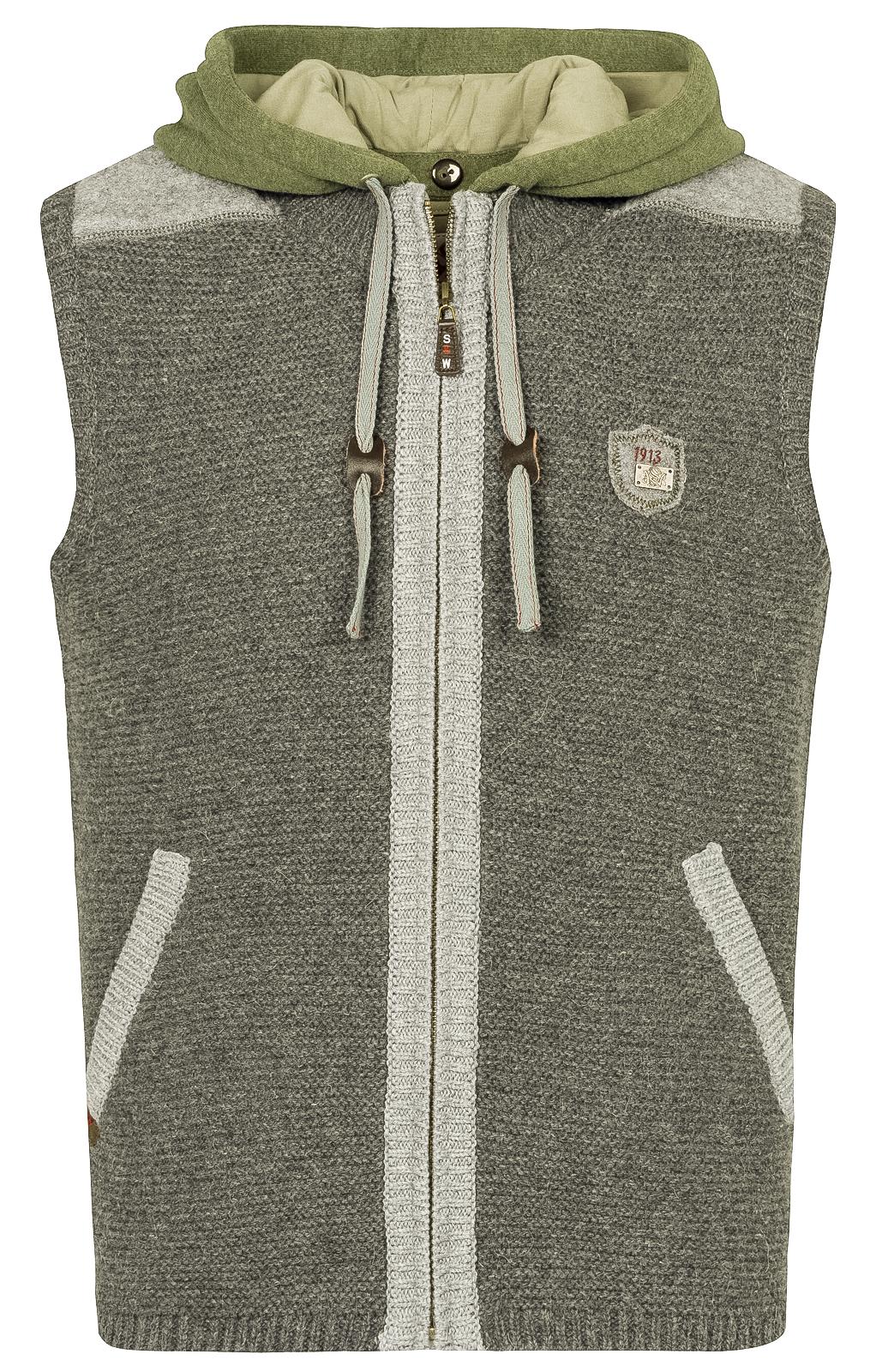 weitere Bilder von Traditional waistcoat knitted black