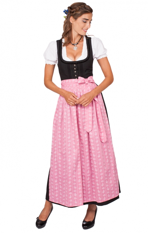 Dirndl long 96cm 1pc. ZENTA3 SC235 pink