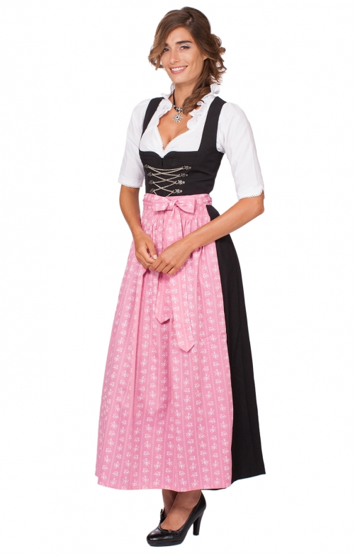 Dirndl long 96cm 1pc. AMBER SC235 pink
