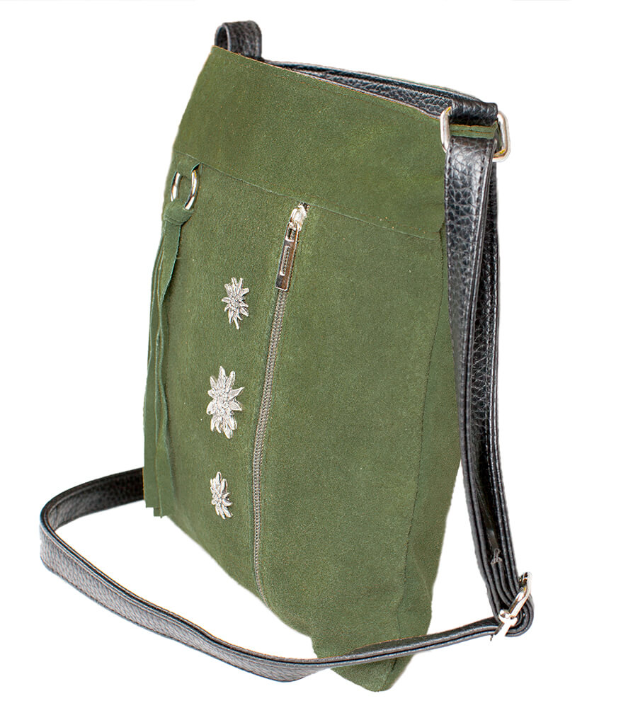 weitere Bilder von Tiroler Handtassen Edelweiss, TA30300-3-groen