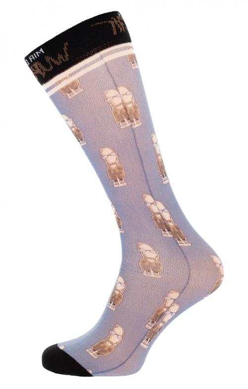 Socke HOMER blau