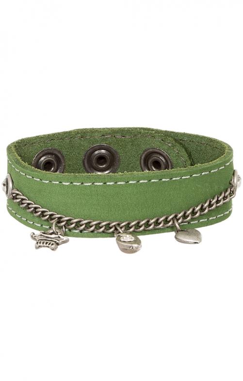 Bracelet 19-3700 suede green