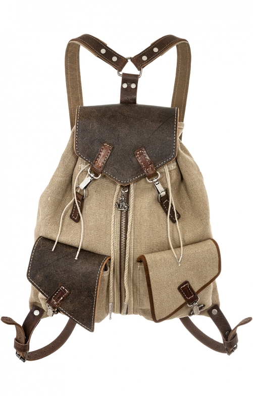 Traditional Backpack 174-3744 tan