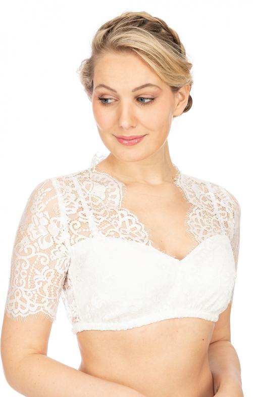 Blouses & Shirts|Blouse Traditional dirndl blouse MALINA-ELVIRA offwhite