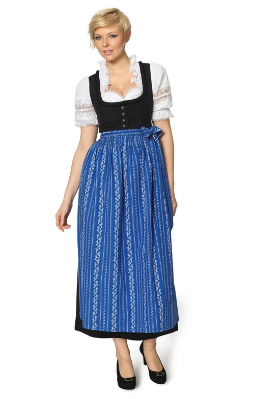Dirndl long 96cm 1pc. ZENTA3 SC195 royale