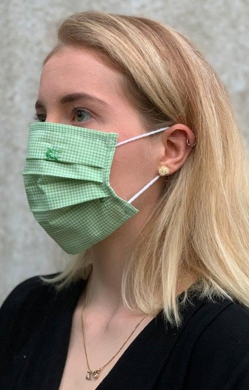 Stoffen masker 2941-51 vergif groen