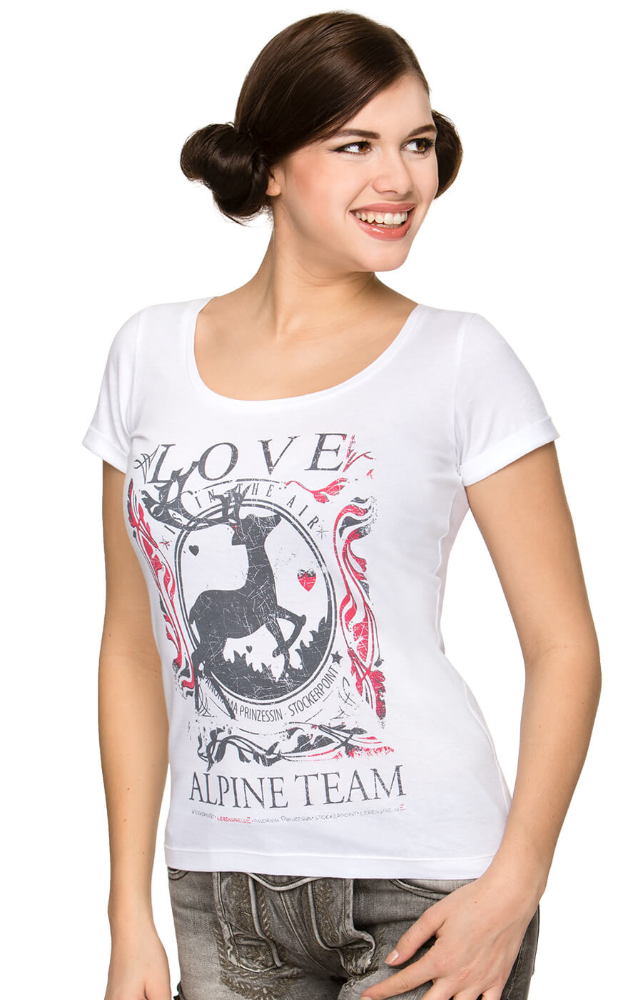 Trachten T-Shirt Alpine Team Yoko von Stockerpoint