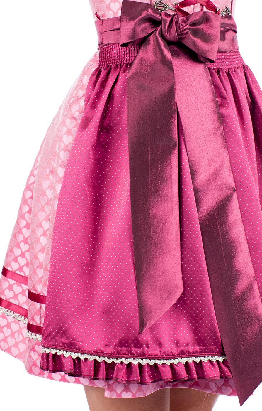 weitere Bilder von Mini Dirndl Cayenne 2tlg. 50cm pink
