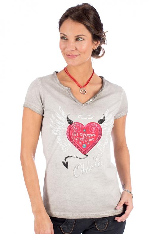 T-Shirt RIKE grau