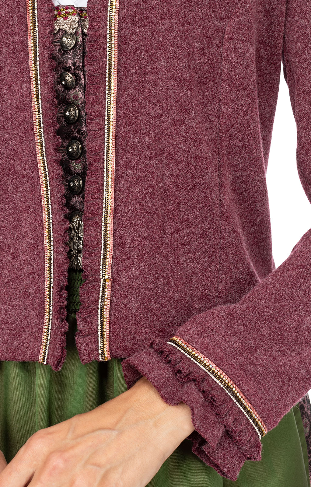 weitere Bilder von Giacca in maglia RIVANA bacca