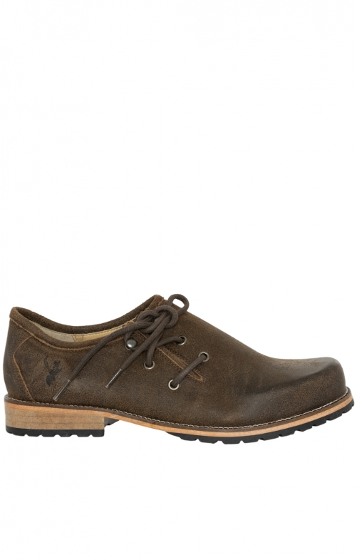 German traditional shoes H526 - MURPHY brown