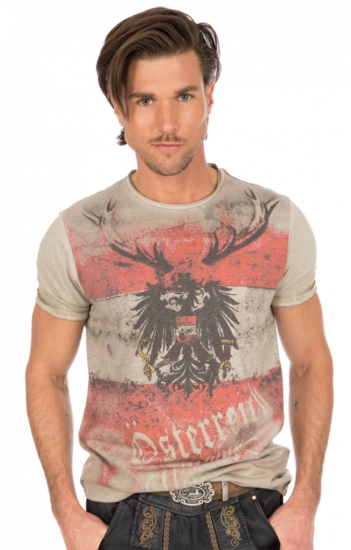 Traditional German T-Shirt BENNI nature