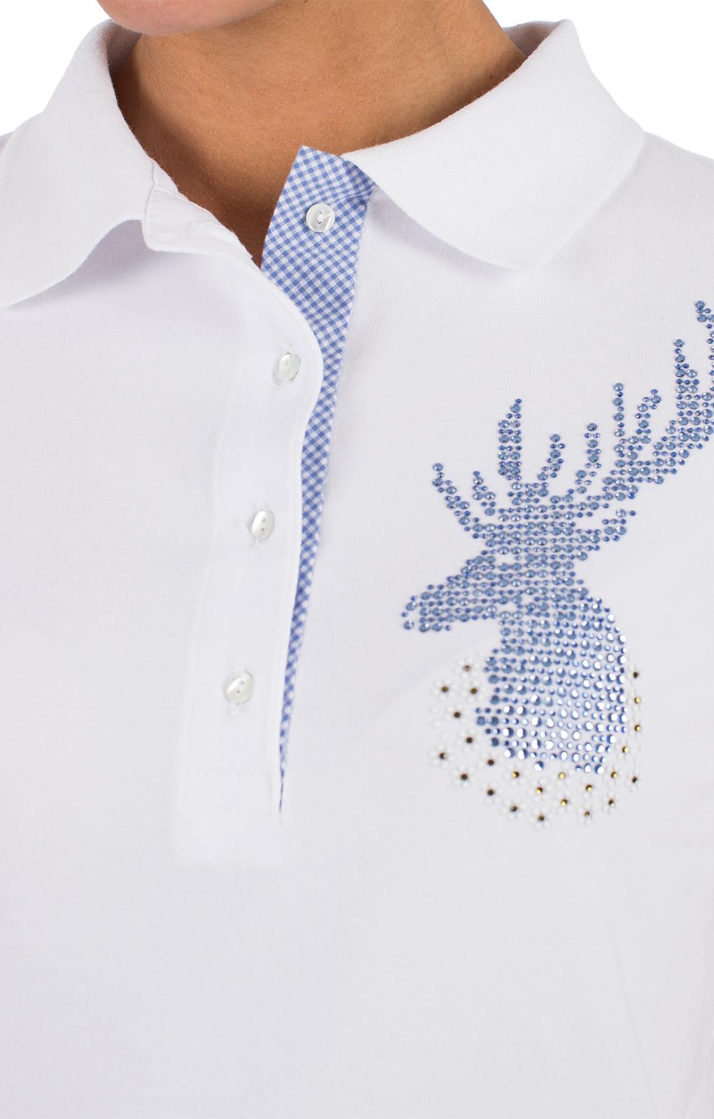 weitere Bilder von Maglietta tradizionale SENTA bianco