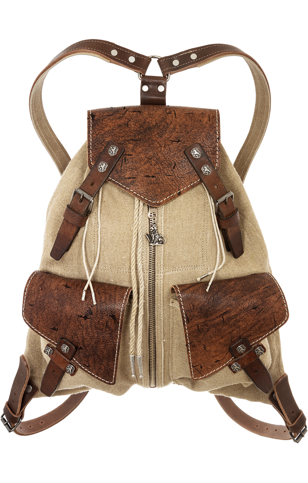 Traditionele rugzak 174-3738 camel von Sima