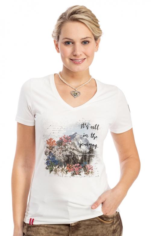 T-Shirt HAINZLERALM offwhite