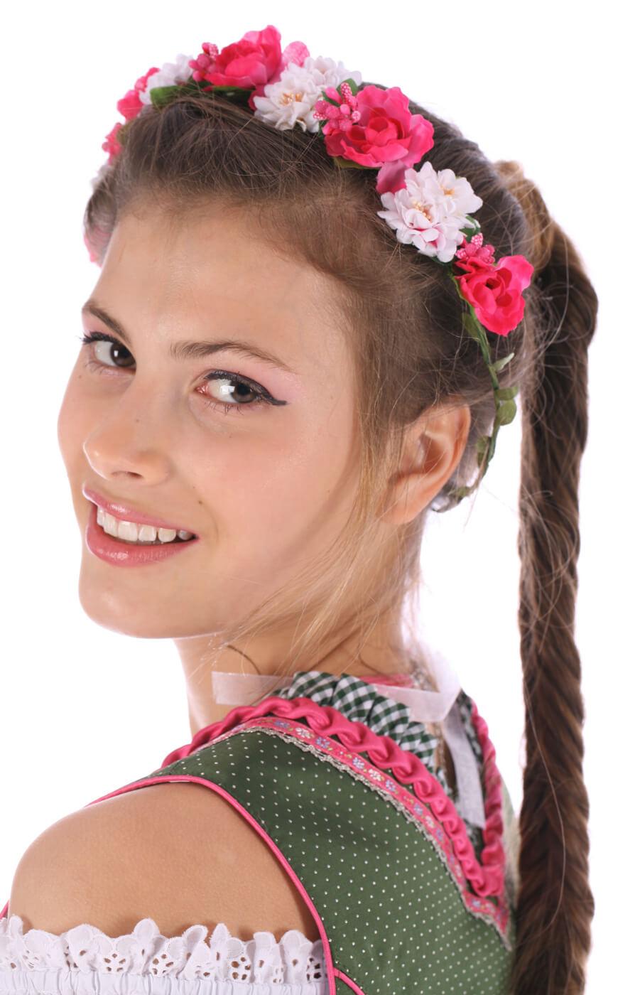 Hair- and Hat accessories 26001 pink von Reischl