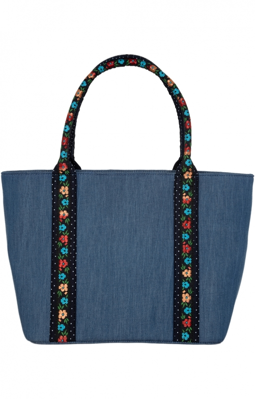 COMBI BAG Blue wahed - 16N blau
