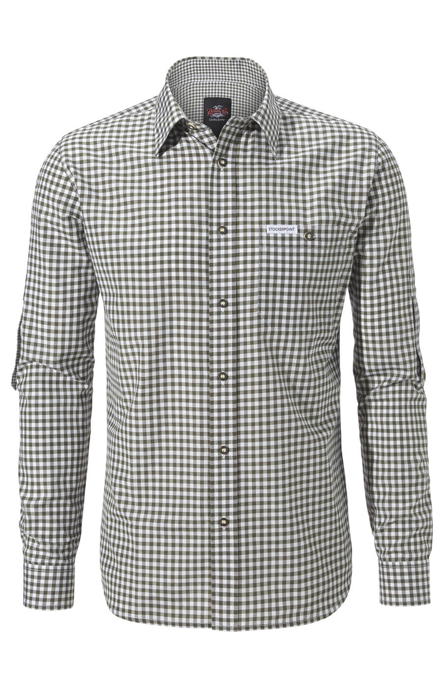 weitere Bilder von German traditional shirt checkered Campos2 reed