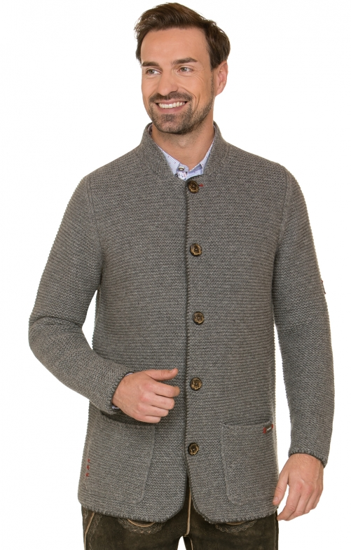 Traditional german cardigan MANSON black