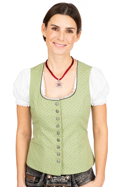 Traditional dirndl corsage MA130 CO green