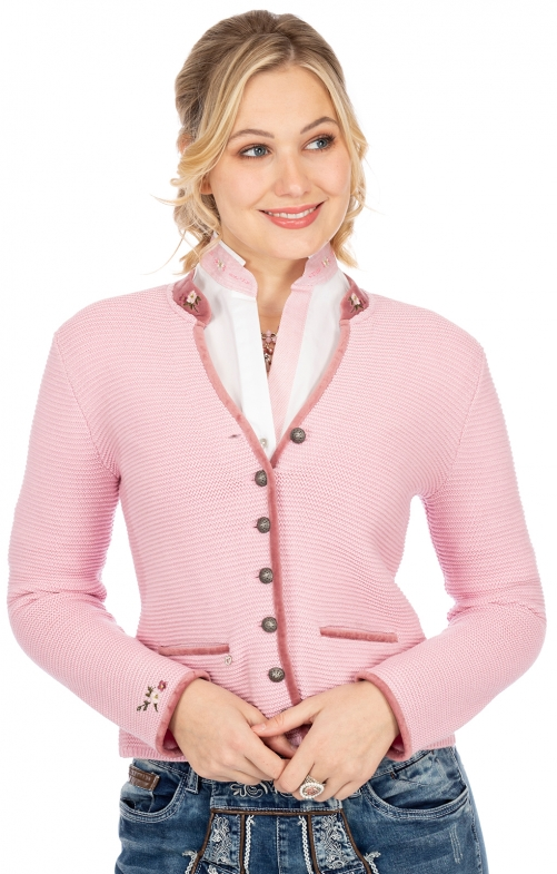 Strickjacke MALTA rosa