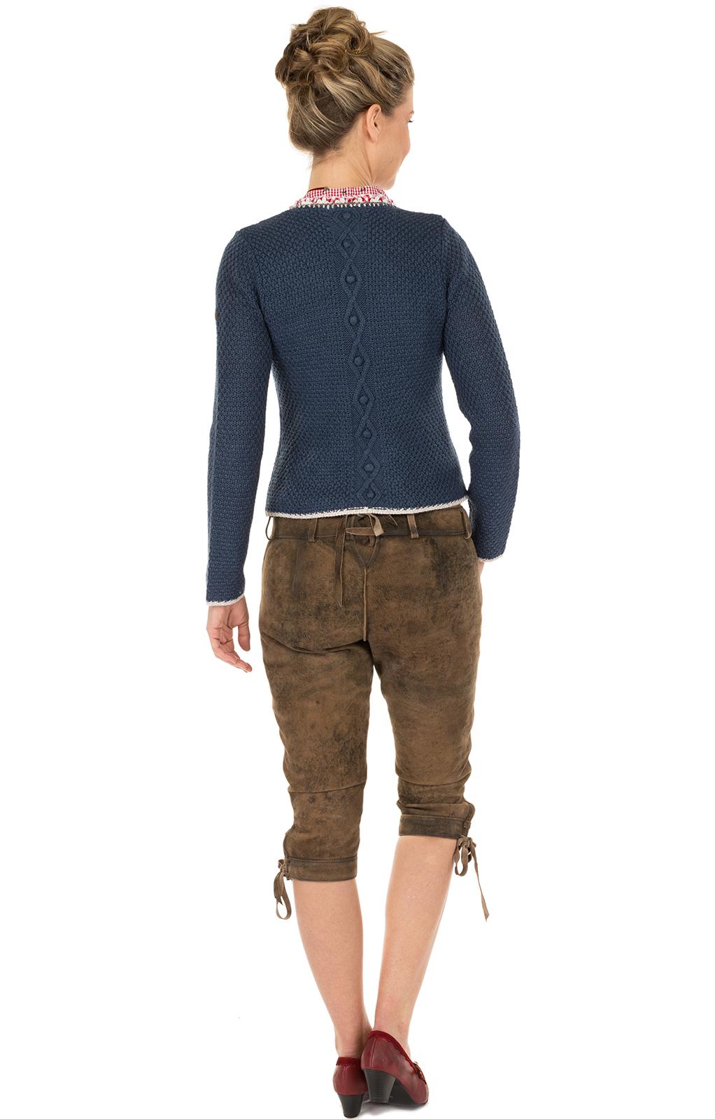 weitere Bilder von Giacca in maglia Aidas jeansblau