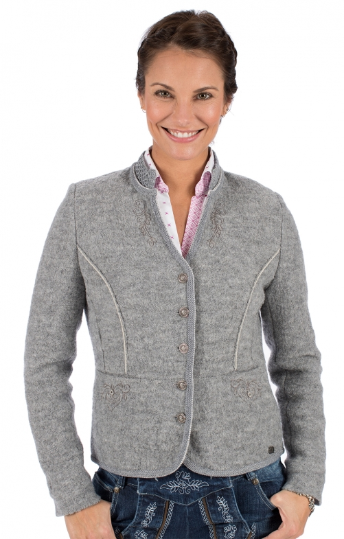 Traditional Jackets Walk Jacket KRIEMHILD WJ gray