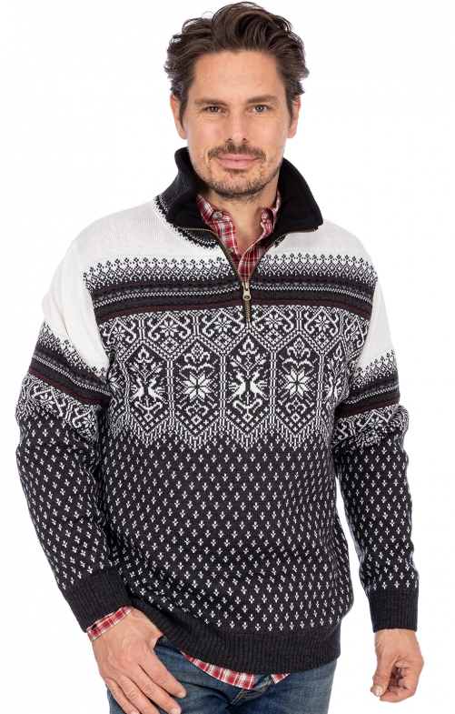 Norweger Pullover SEBASTJAN grau