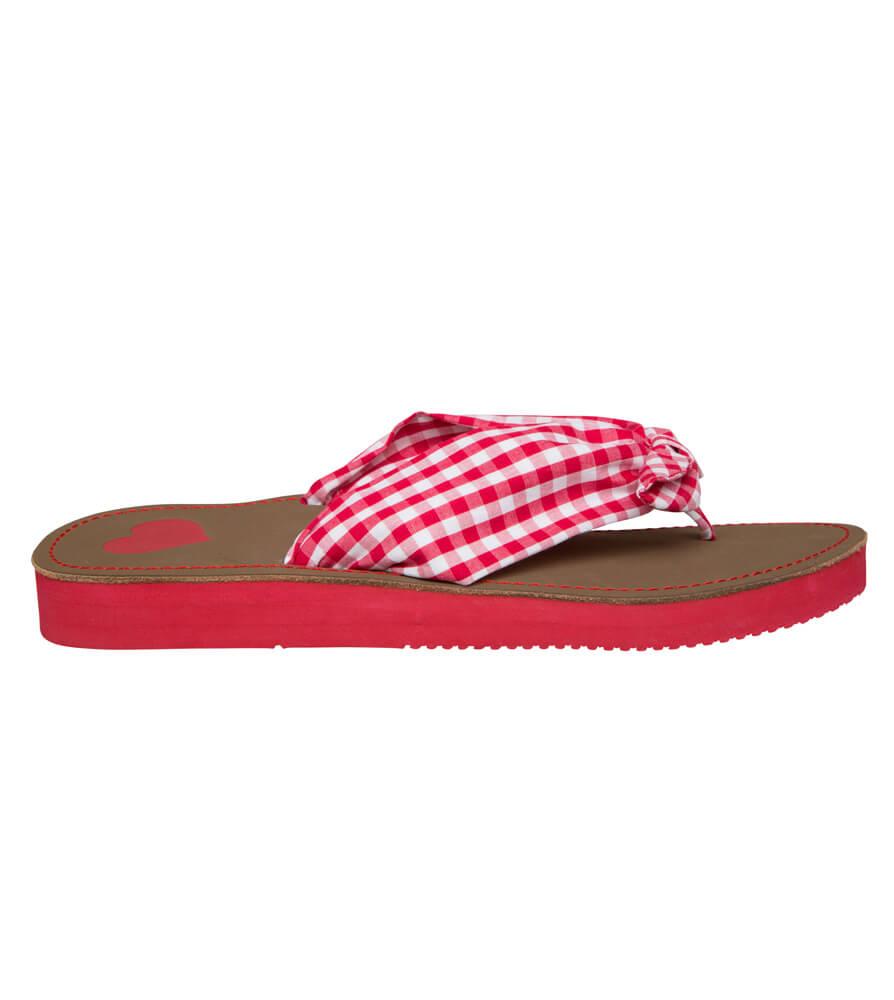 Summer sandals 4113 red von Krüger Dirndl