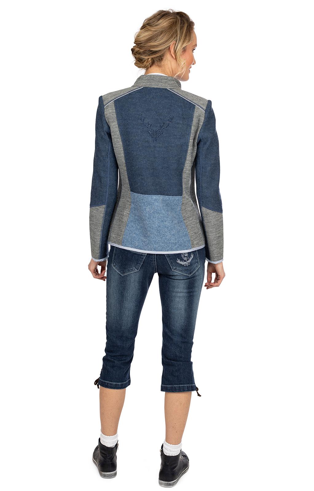 weitere Bilder von Jacke NEDLITZ jeansblau grau