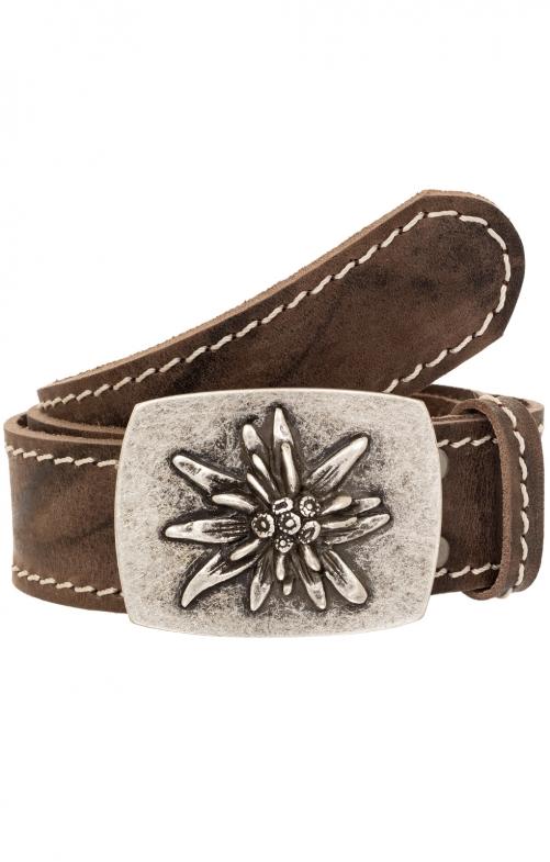 Trachten Belts 9340S115-11 dark brown
