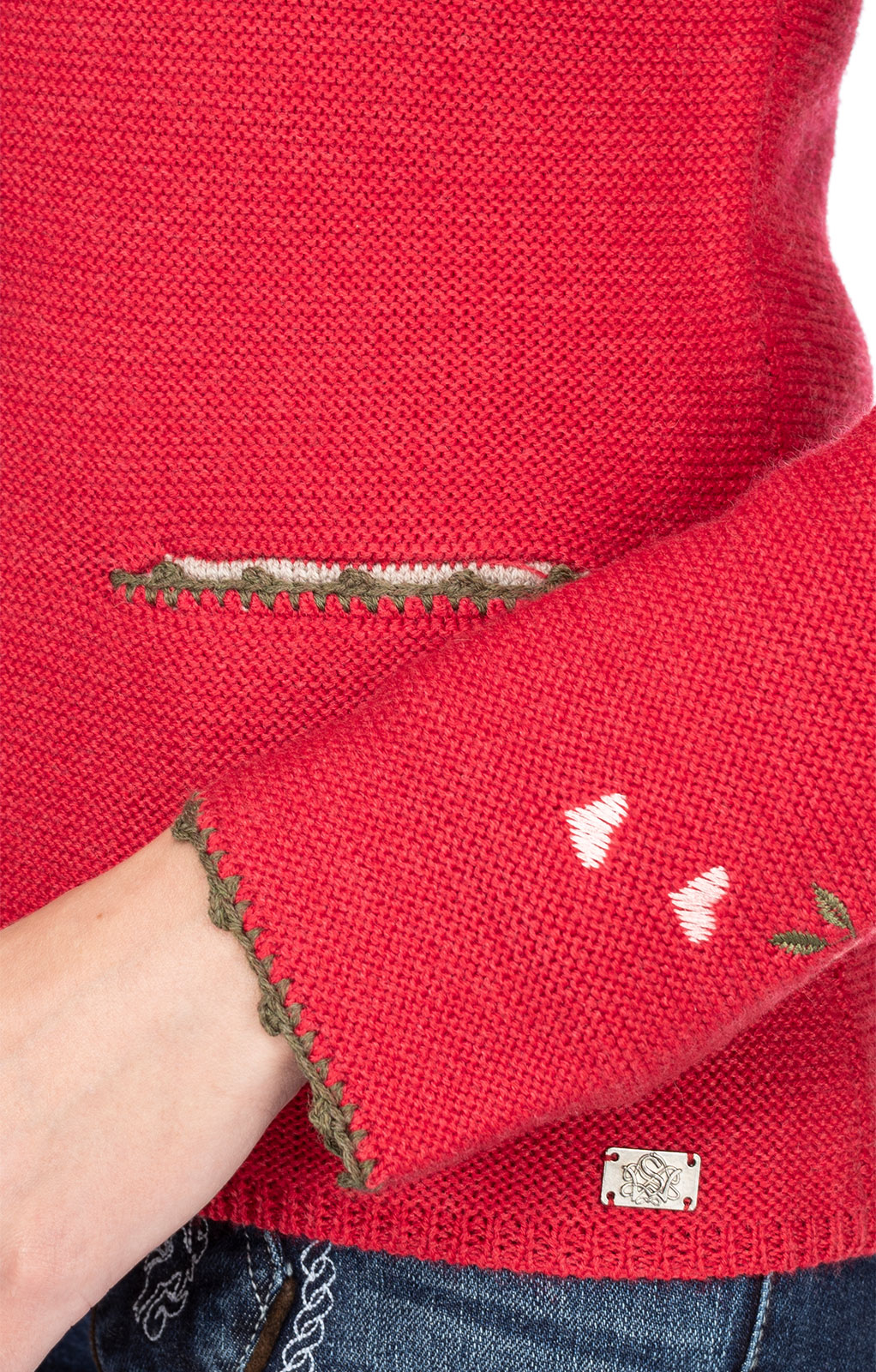 weitere Bilder von Giacca in maglia MOSEL rosso