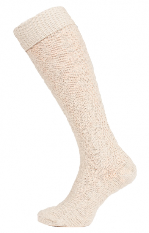 Traditional knee socks 54060 nature