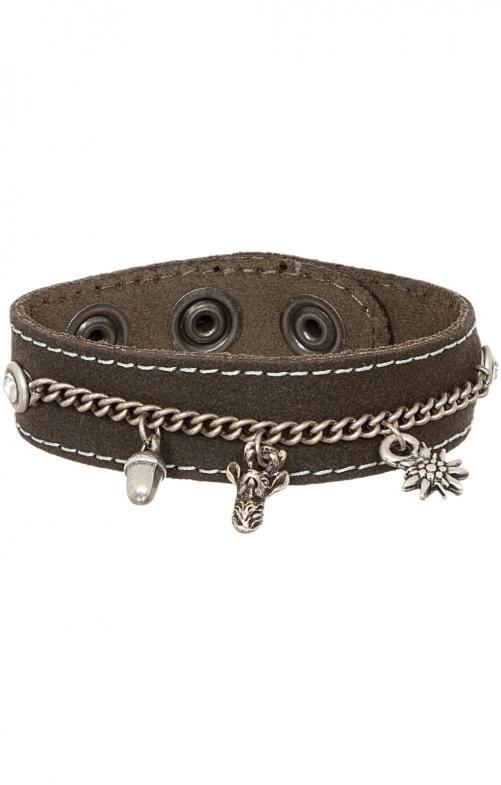 Armband 19-3703 Velour anthrazit