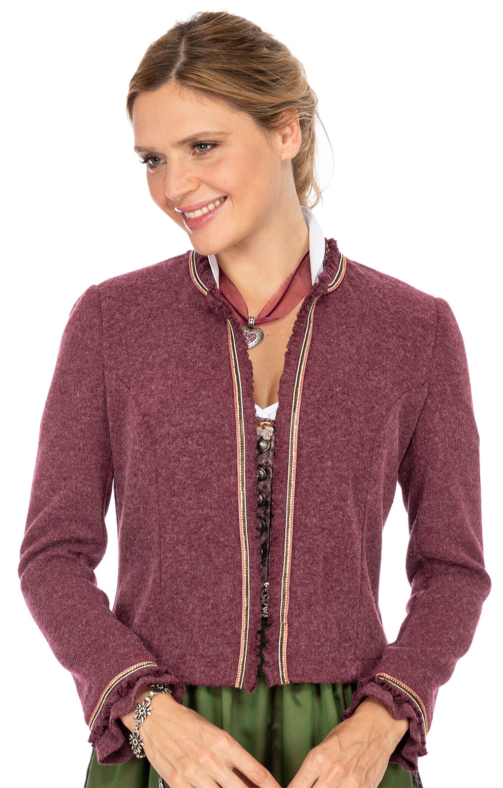 Traditional Jackets RIVANA berry von Marjo