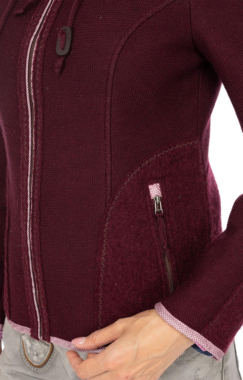 weitere Bilder von Trachtenjacken MISTEL burgund