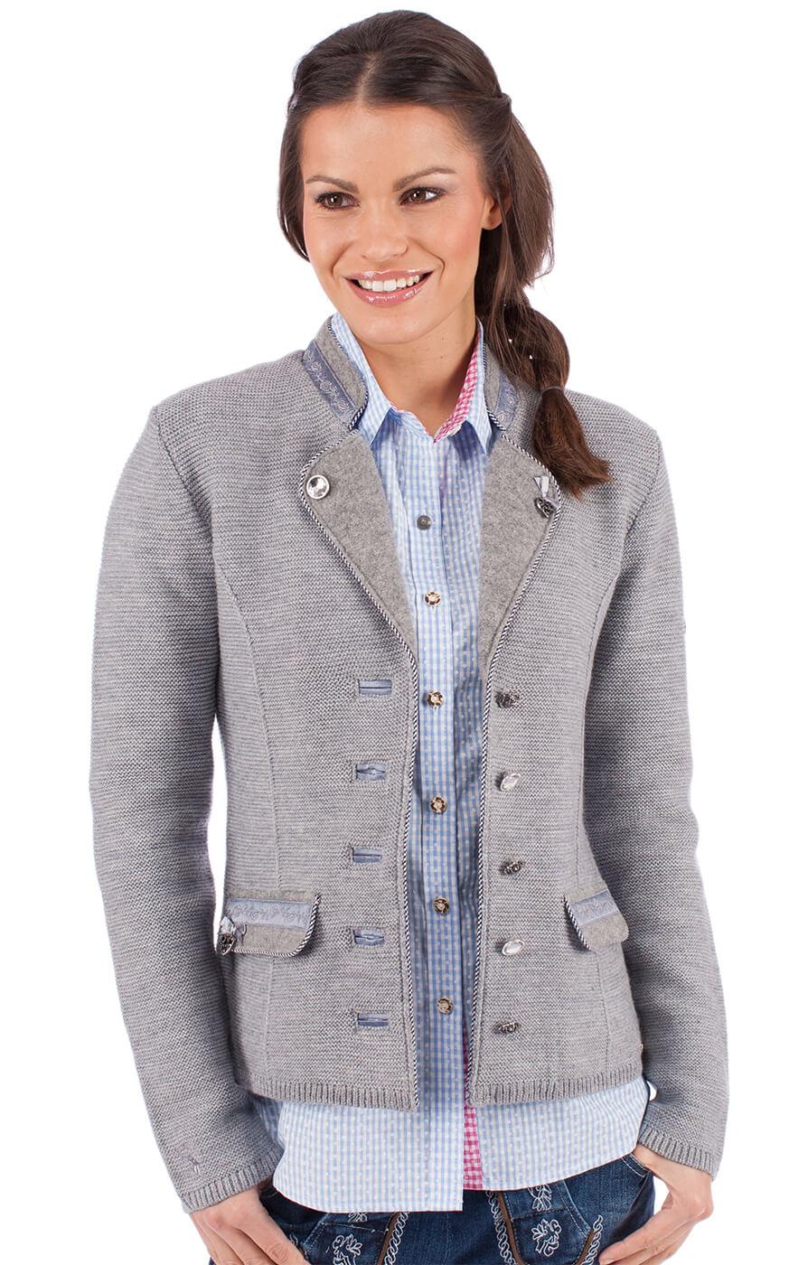 Giacca in maglia per Dirndl ELSBETH grigio von Spieth & Wensky