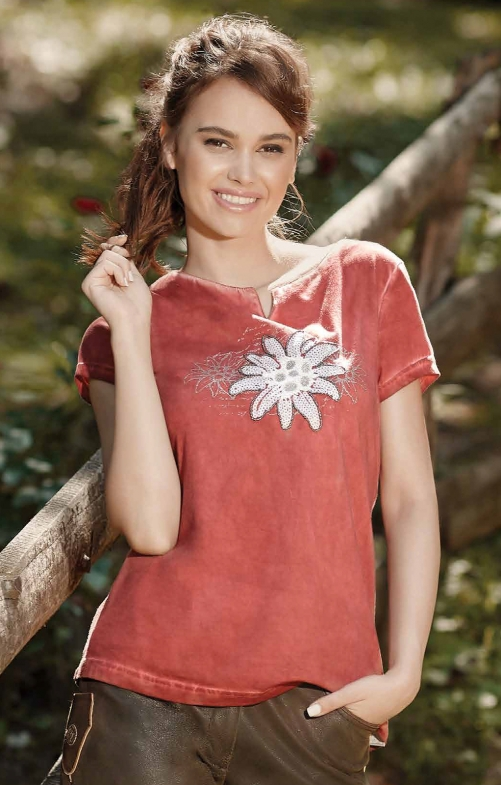 Tracht T-Shirt 321131 red