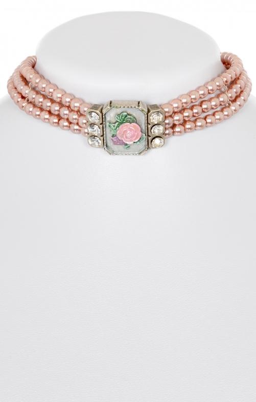 Tradtional Crop chain 3-row 3921 pink