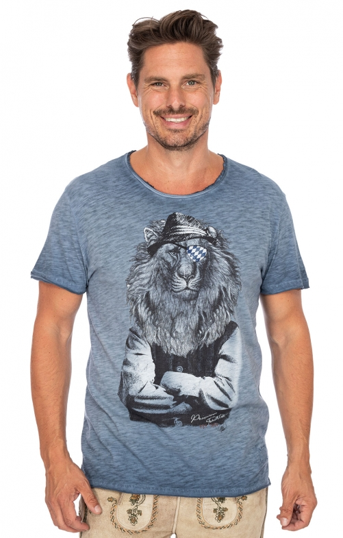 Costumes T-shirt G16 - LEOPOLD blue
