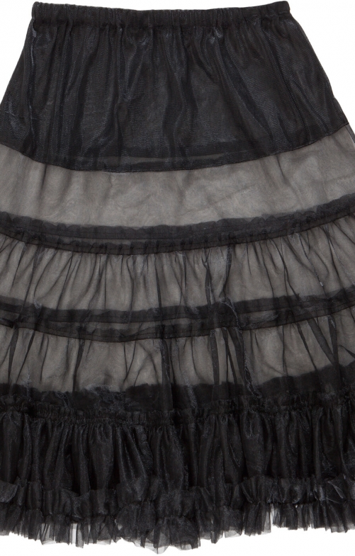 German traditional petticoat U90 black