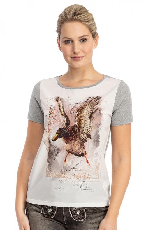 T-Shirt SIGLINDE grau