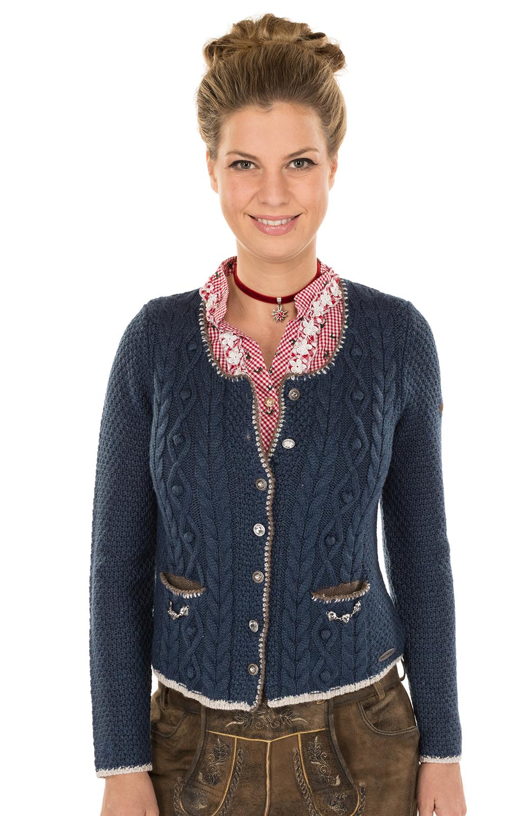 Giacca in maglia Aidas jeansblau von Spieth & Wensky
