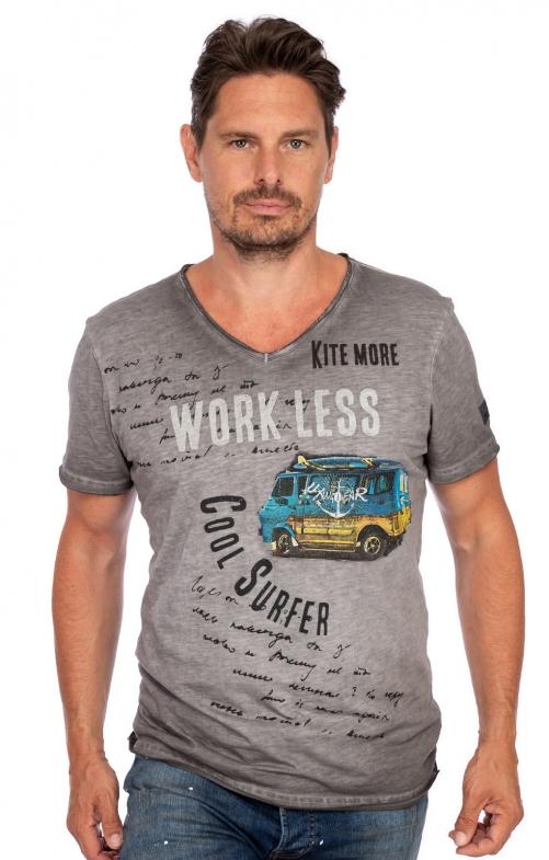 T-Shirt COASTRIDER grau