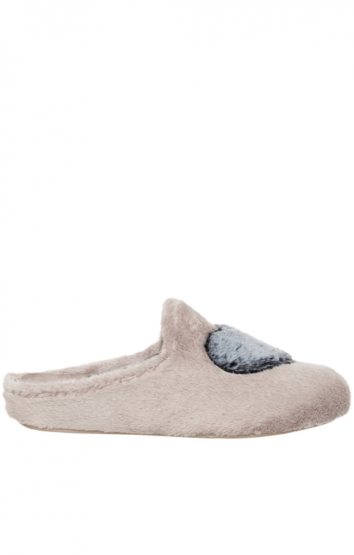 Traditional Slipper MARIELLA old pink