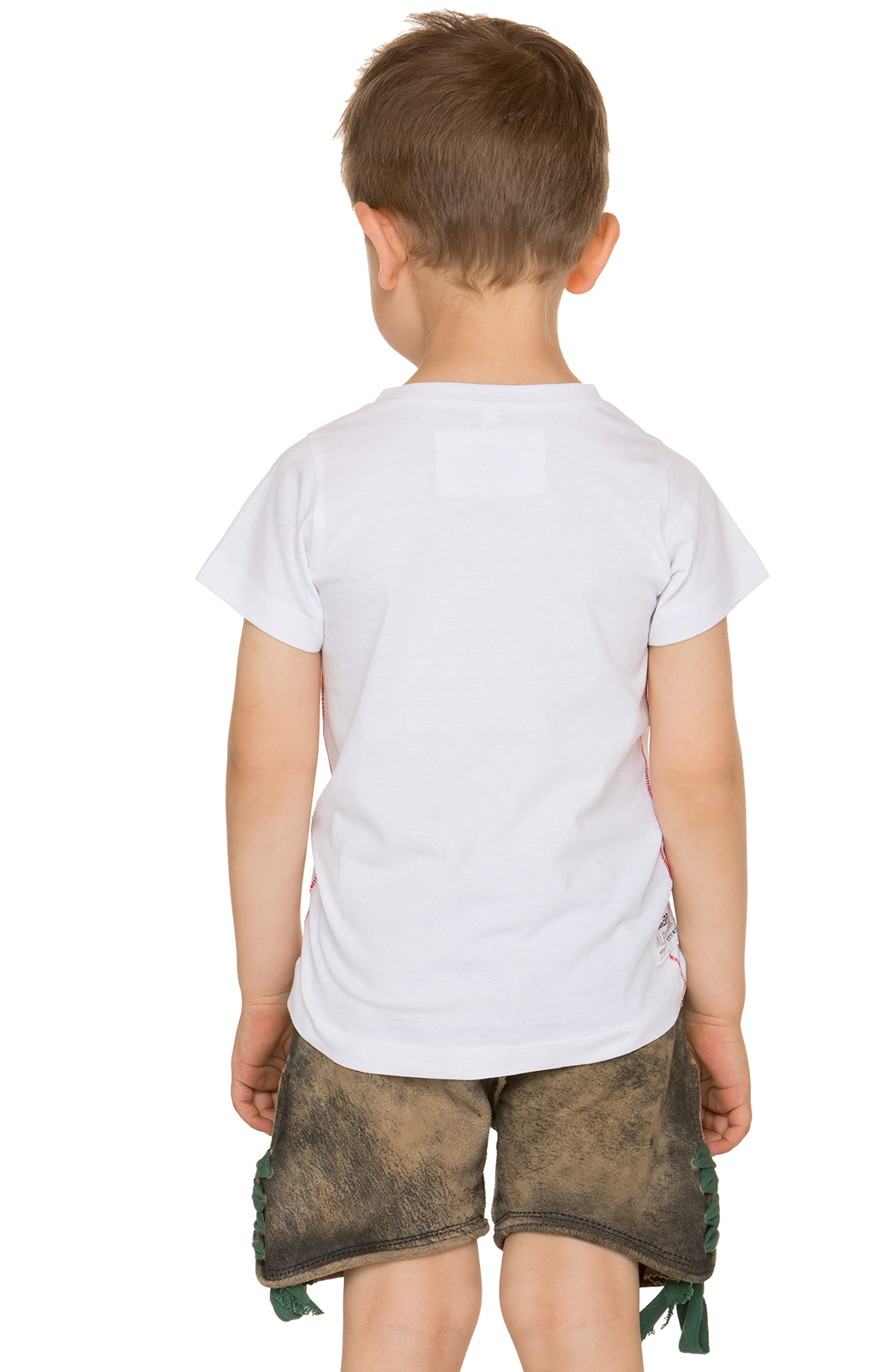 weitere Bilder von Children traditional shirt WOLPIBOY white