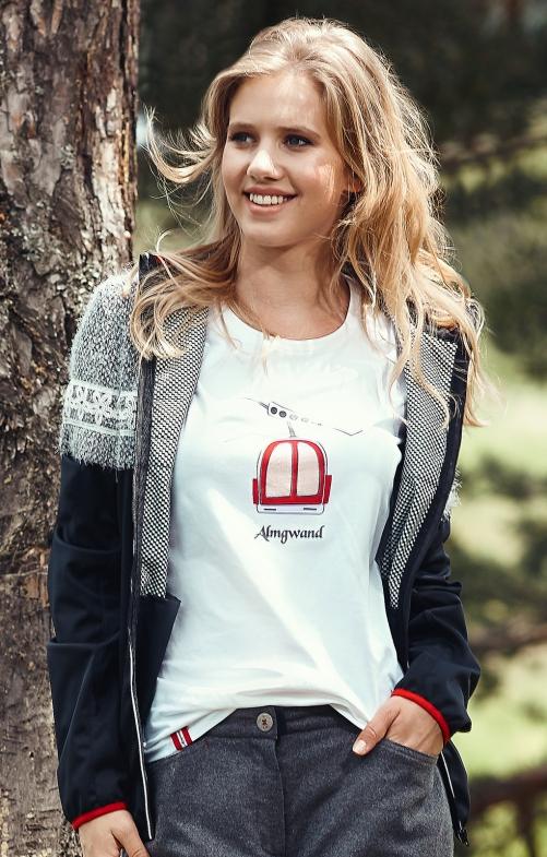 Tiroler Tiroler T-Shirtss HOCHMAISALM white