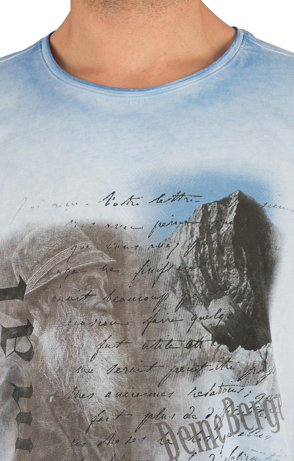 weitere Bilder von Trachten T-Shirt FYNN hellblau