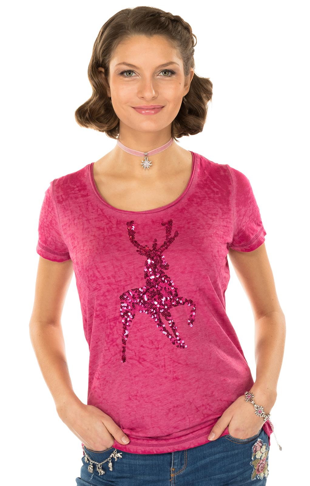 Maglietta tradizionale K20-ELLA rosa von Marjo
